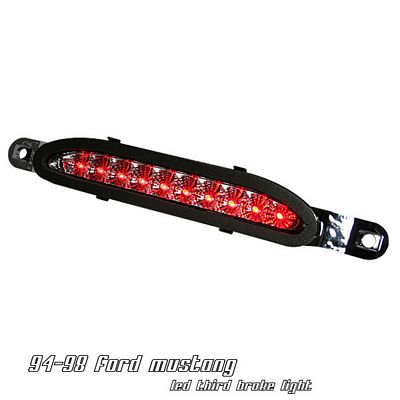 Ford Mustang 1994-1998 Clear LED Third Brake Light
