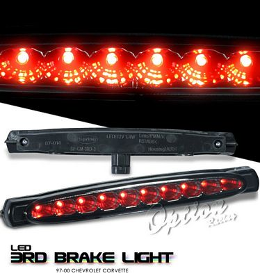 Chevy Corvette 1997-2000 Smoked LED Third Brake Light