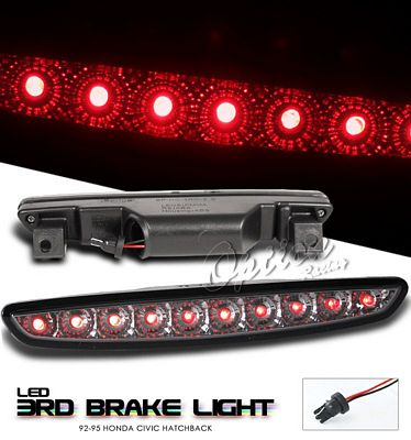 Honda Civic 1992-1995 Hatchback Smoked LED Third Brake Light