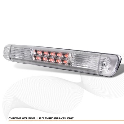 Chevy 1500 Pickup 1988-1998 Clear LED Third Brake Light