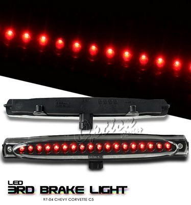 Chevy Corvette 1997-2004 Depo Black LED Third Brake Light