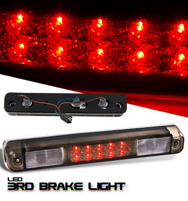 Chevy Silverado 1988-1998 Smoked LED Third Brake Light