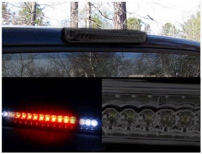 Chevy Silverado 1988-1998 Smoked LED Third Brake Light