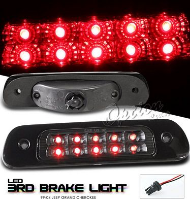 Jeep Grand Cherokee 1999-2004 Black LED Third Brake Light