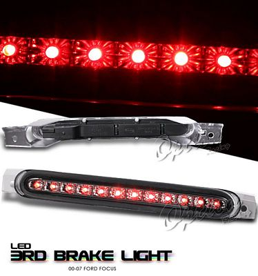 Ford Focus Sedan 2000-2007 Smoked LED Third Brake Light