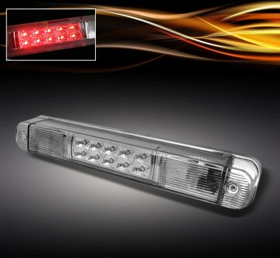 Chevy 3500 Pickup 1988-1998 Clear LED Third Brake Light