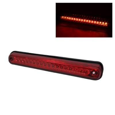 Chevy 2500 Pickup 1988-1998 Red Full LED Third Brake Light