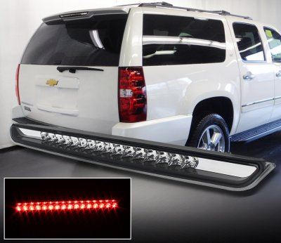 Chevy Tahoe 2007 2017 Clear Led Third Brake Light