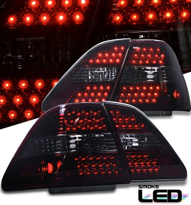 Lexus Ls430 2001 2003 Red Smoked Led Tail Lights