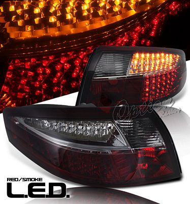 Porsche 911 Carrera 1998-2004 Red and Smoked LED Tail Lights