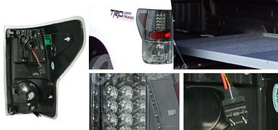 Toyota Tundra 2007-2011 Smoked LED Tail Lights