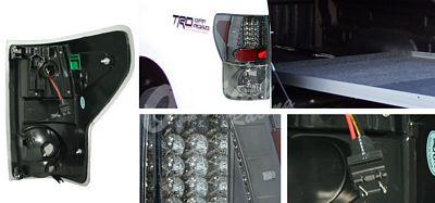 Toyota Tundra 2007-2011 Smoked LED Tail Lights