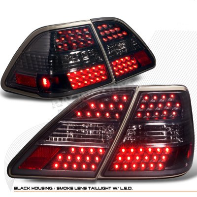 Lexus LS430 2001-2003 Smoked LED Tail Lights