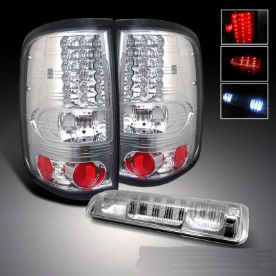 ford f150 2004 2008 clear led tail lights and led third. Black Bedroom Furniture Sets. Home Design Ideas