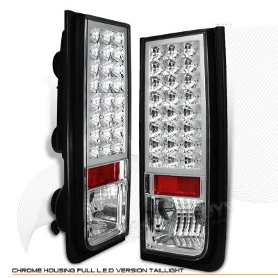 Hummer H2 2003-2009 Clear LED Tail Lights