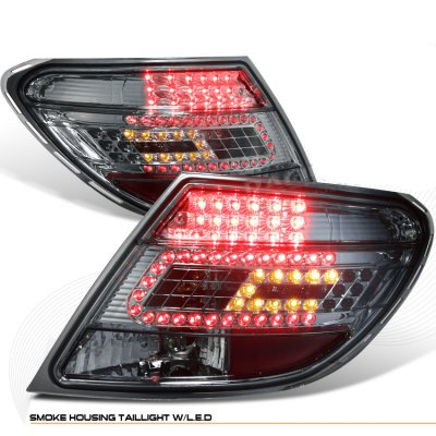 Mercedes Benz C Class 2008 2010 Smoked Led Tail Lights