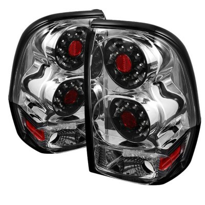 Chevy Trail Blazer 2002-2009 Clear LED Tail Lights