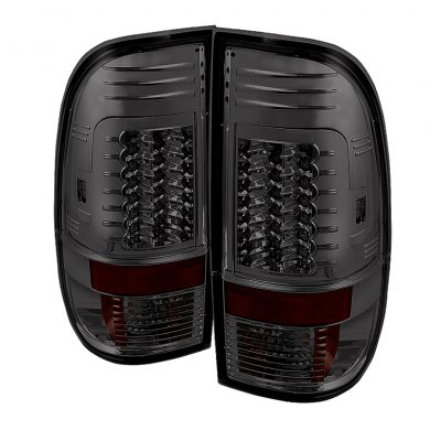ford f150 1997 2003 smoked led tail lights a103dlel109 topgearautosport. Black Bedroom Furniture Sets. Home Design Ideas