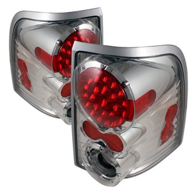 Ford Explorer 2002 2005 Clear Led Tail Lights A103q2dk109 Topgearautosport