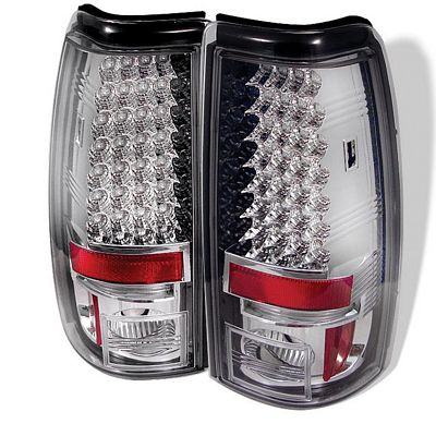Chevy Silverado 2003-2006 Clear LED Tail Lights