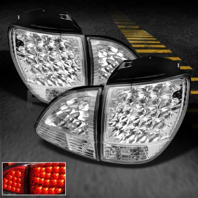 Lexus RX300 2001-2003 Clear LED Tail Lights