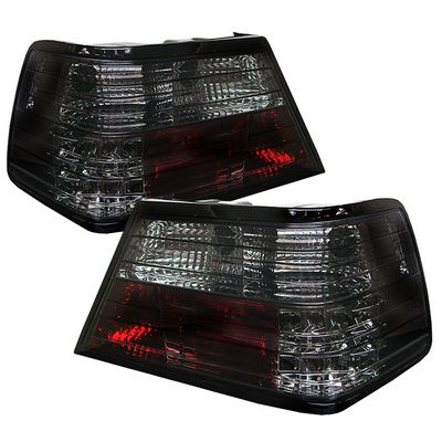 Mercedes Benz E Class 1986-1995 Smoked LED Tail Lights