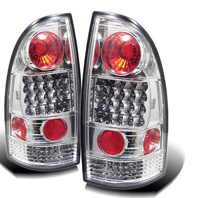 Toyota Tacoma 2005-2011 Clear LED Tail Lights