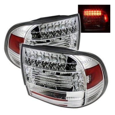 Porsche Cayenne 2003-2007 Clear LED Tail Lights
