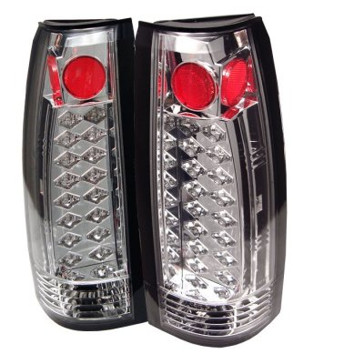 chevy silverado 1988 1998 clear led tail lights. Black Bedroom Furniture Sets. Home Design Ideas