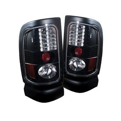 dodge ram 2500 1994 2002 black led tail lights. Black Bedroom Furniture Sets. Home Design Ideas