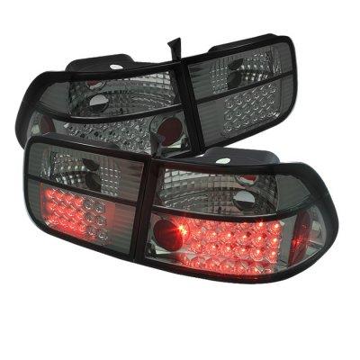 F150 Led Headlights >> Honda Civic Coupe 1996-2000 Smoked LED Tail Lights ...
