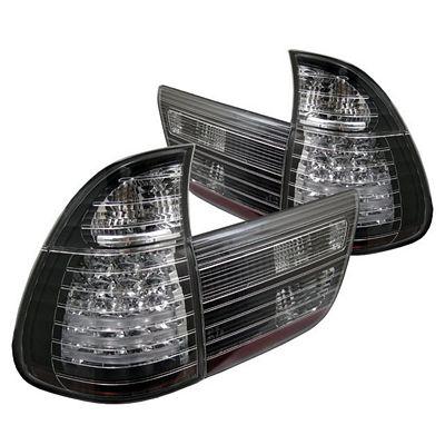 BMW E53 X5 2000 Black LED Tail Lights