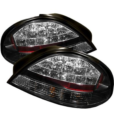 Pontiac Grand Am 1999 2005 Black Led Tail Lights A103l4do109 Topgearautosport