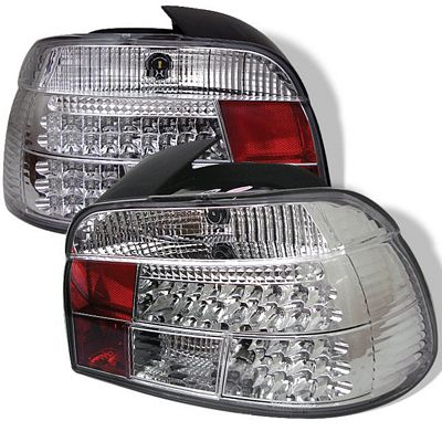 BMW E39 5 Series 1997-2000 Clear LED Tail Lights