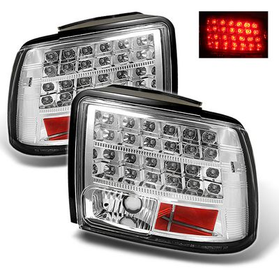Ford Mustang 1999-2004 Clear LED Tail Lights