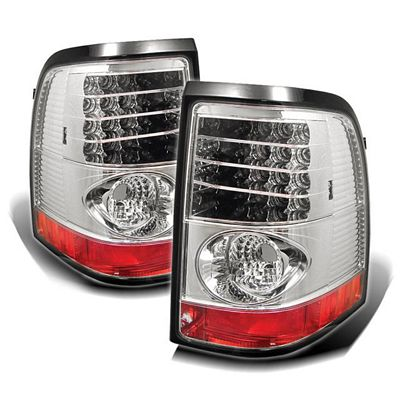 Ford Explorer 2002-2005 Clear LED Tail Lights