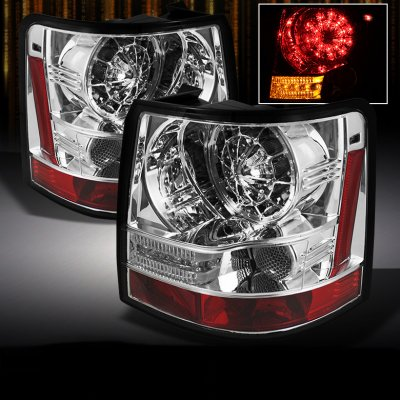 Land Rover Range Rover Sport 2006-2009 Clear LED Tail Lights