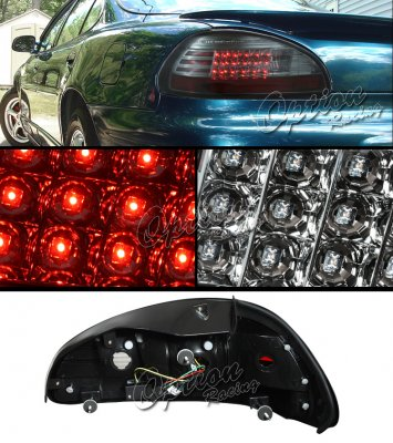 Pontiac Grand Prix 1997-2003 Smoked LED Tail Lights