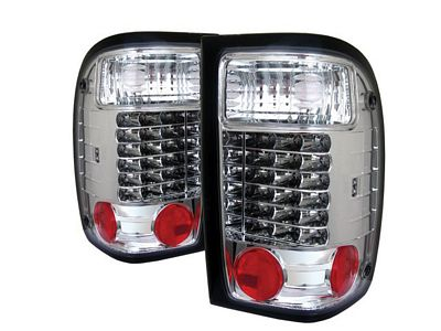 Ford Ranger 2001-2005 Clear LED Tail Lights