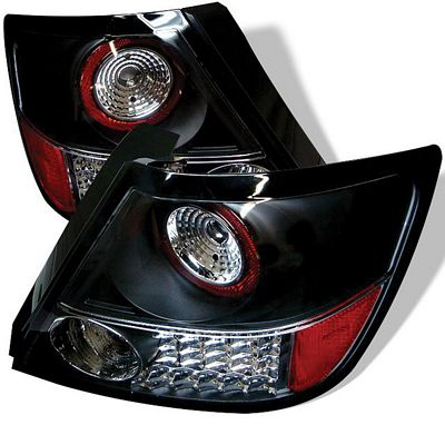 Scion tC 2005-2010 Black LED Tail Lights