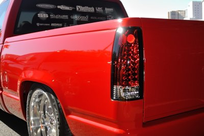 chevy silverado 1988 1998 red and clear led tail lights. Black Bedroom Furniture Sets. Home Design Ideas