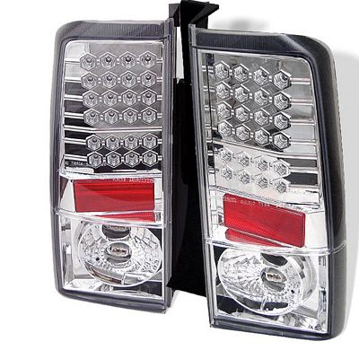 Scion xB 2003-2006 Clear LED Tail Lights