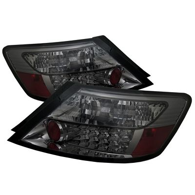 Honda Civic Coupe 2006-2010 Smoked LED Tail Lights