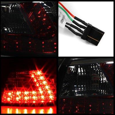 Mitsubishi Lancer 2008-2015 Smoked LED Tail Lights