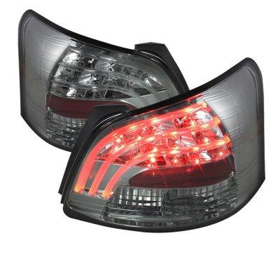 Toyota Yaris Sedan 2007-2009 Smoked LED Tail Lights