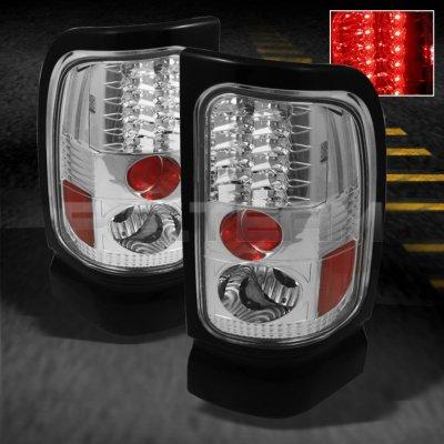 dodge ram 3500 1994 2002 clear led tail lights. Black Bedroom Furniture Sets. Home Design Ideas