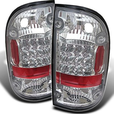 Toyota Tacoma 2001-2004 Clear LED Tail Lights
