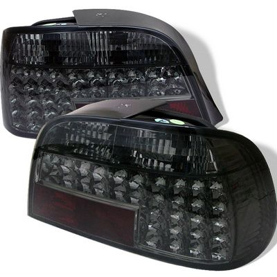BMW E38 7 Series 1995-2001 Smoked LED Tail Lights