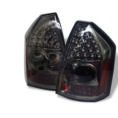 Chrysler 300 2005-2007 Smoked LED Tail Lights