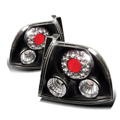 Honda Accord 1994-1995 Black LED Tail Lights